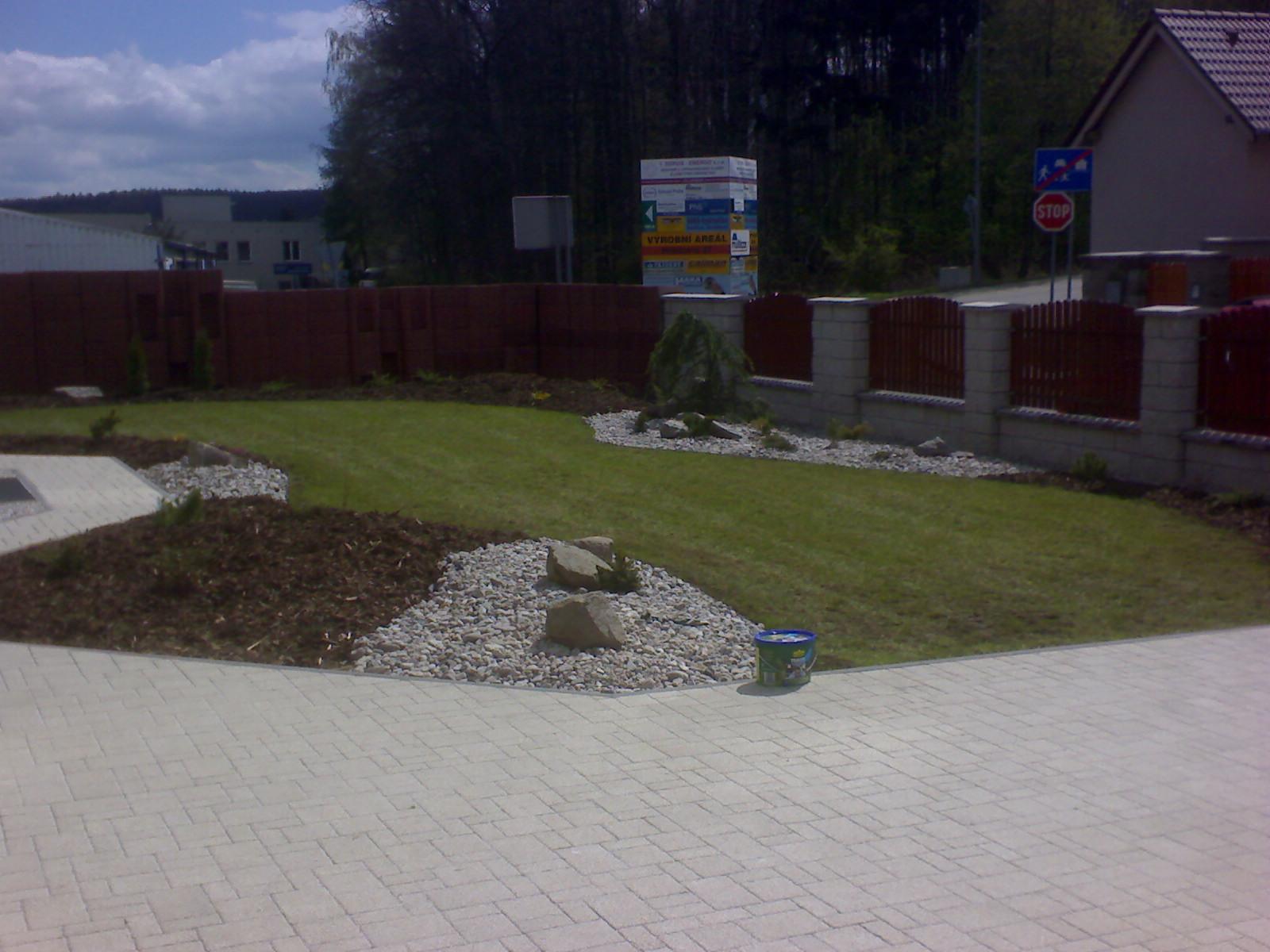 Plzeň – zahrada